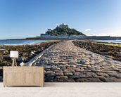 St Michaels Mount, Cornwall wallpaper mural living room preview