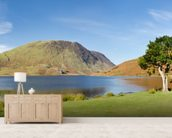 Crummock Water Panoramic wall mural living room preview