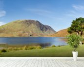 Crummock Water Panoramic wall mural in-room view