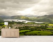 Lake Derwentwater wallpaper mural living room preview