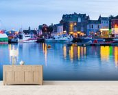 Padstow Harbour, Cornwall wall mural living room preview