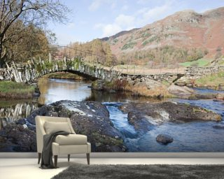 Little Langdale, Lake District Mural Wallpaper Wall Murals Wallpaper