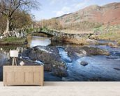 Little Langdale, Lake District wallpaper mural living room preview