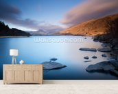 Stunning Snowdonia mural wallpaper living room preview
