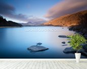 Stunning Snowdonia mural wallpaper in-room view
