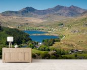 Snowdonia National Park wall mural living room preview
