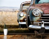 Rusting Vintage Car wallpaper mural kitchen preview