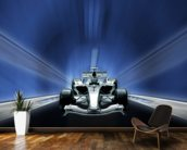 Formula One Car mural wallpaper kitchen preview