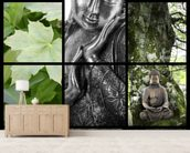 Bouddhisme et Relaxation wall mural living room preview