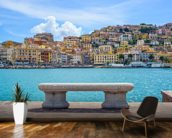 Porto Santo Stefano wallpaper mural kitchen preview