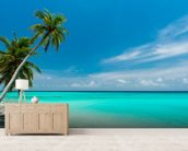 Beach Paradise wall mural living room preview