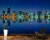 Miami Skyline wall mural kitchen preview