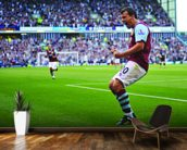 Robbie Blake Celebration, Burnley v Man Utd wallpaper mural kitchen preview