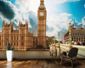 Big Ben wall mural kitchen preview
