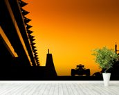 Abu Dhabi Grand Prix at Sunset, 2012 wall mural in-room view