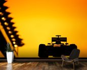 F1 Car Sunset, Abu Dhabi 2013 wallpaper mural kitchen preview