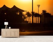 Abu Dhabi Sunset 2013 mural wallpaper living room preview