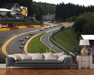 Radillion, Spa-Francorchamps 2013 wall mural