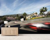 Monaco Grand Prix wall mural living room preview