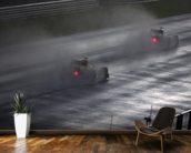 In the Wet, Malaysian Grand Prix wall mural kitchen preview