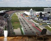 Grand Prix Start, Hockenheimring, Germany 2012 mural wallpaper kitchen preview