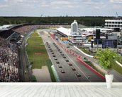 Grand Prix Start, Hockenheimring, Germany 2012 mural wallpaper in-room view