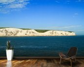 White Cliffs of Dover Panoramic wall mural kitchen preview