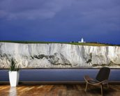White Cliffs of Dover wallpaper mural kitchen preview