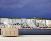 White Cliffs of Dover wallpaper mural living room preview