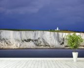 White Cliffs of Dover wallpaper mural in-room view