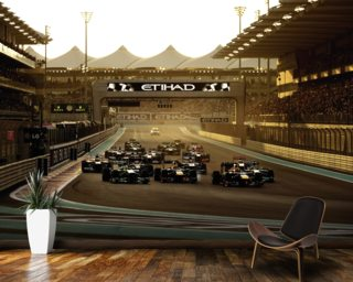 Abu Dhabi Grand Prix 2013 wallpaper mural