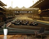 Abu Dhabi Grand Prix 2013 wallpaper mural kitchen preview