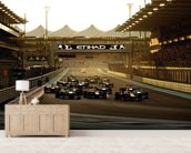 Abu Dhabi Grand Prix 2013 wallpaper mural living room preview