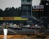 Italian Grand Prix Starting Grid wall mural kitchen preview