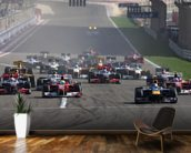 Start of the Bahrain Grand Prix 2010 wall mural kitchen preview