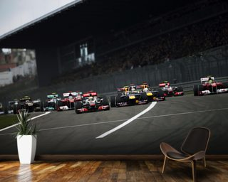 Start of the German Grand Prix 2011 wallpaper mural