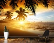 Caribbean Sunset wall mural kitchen preview
