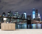 Brooklyn Bridge New York wall mural living room preview