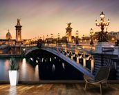 Pont Alexandre III, Paris mural wallpaper kitchen preview
