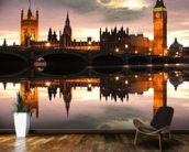 Houses of Parliament Reflection wall mural kitchen preview