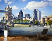 River Thames wallpaper mural kitchen preview