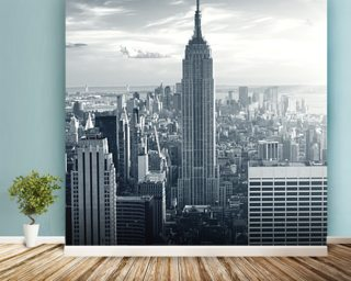 Empire State Building wallpaper mural