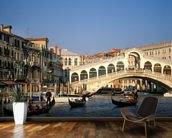Venice Rialto Bridge mural wallpaper kitchen preview
