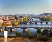 Prague wall mural kitchen preview