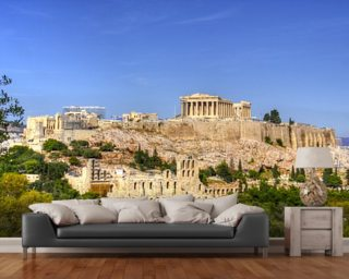 Acropolis mural wallpaper