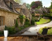 English Cotswold Cottages wall mural kitchen preview