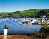 Kingswear Devon wall mural kitchen preview