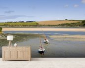 Cornwall Camel Trail wall mural living room preview