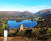 Grasmere from Loughrigg Fell wallpaper mural kitchen preview