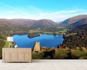 Grasmere from Loughrigg Fell wallpaper mural living room preview